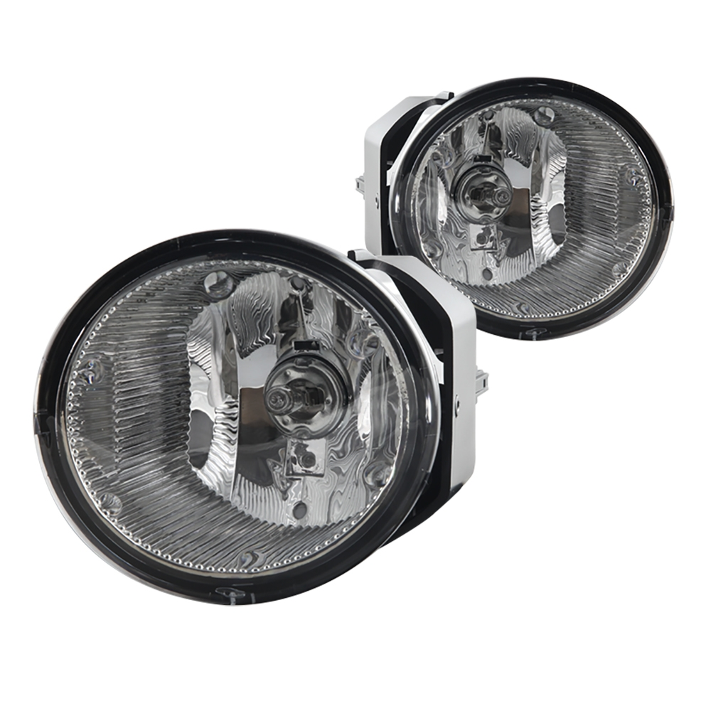 For 2001-2004 Nissan Frontier Fog Lights (Wiring, Switch, and Bezels ...