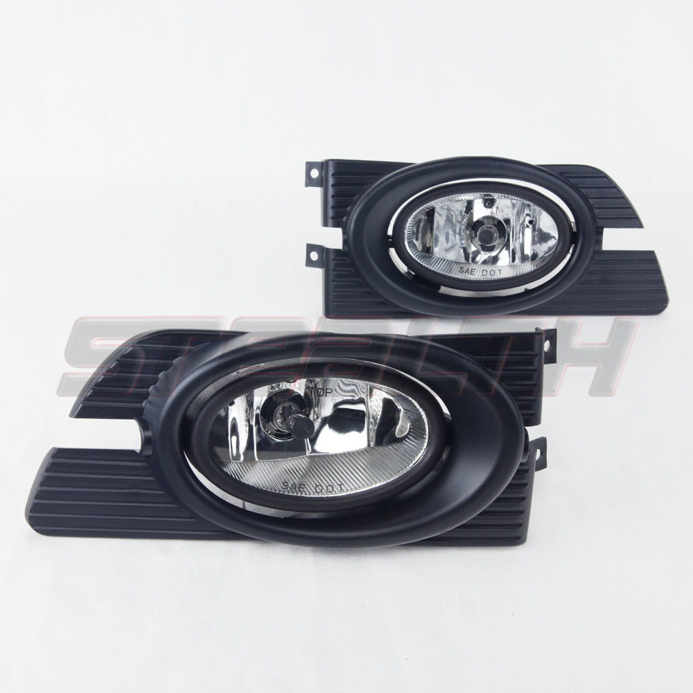 Details About For 1998 2002 Honda Accord Fog Lights Wiring Switch And Bezels Clear Lens 2010 Light Diagram Sedan Kit Product Description