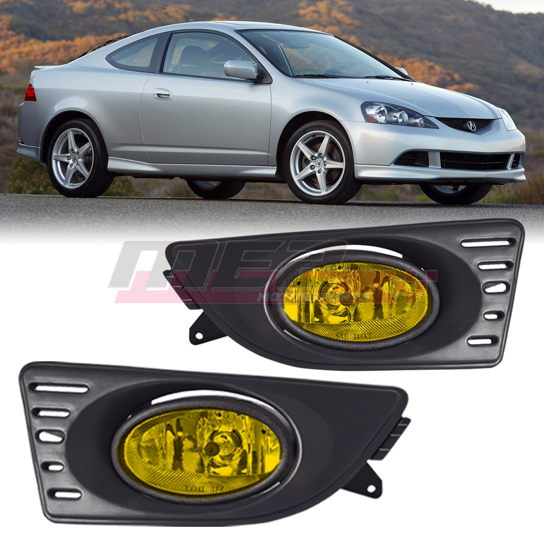 For 2005-2007 Acura RSX PAIR OE Factory Fit Fog Light