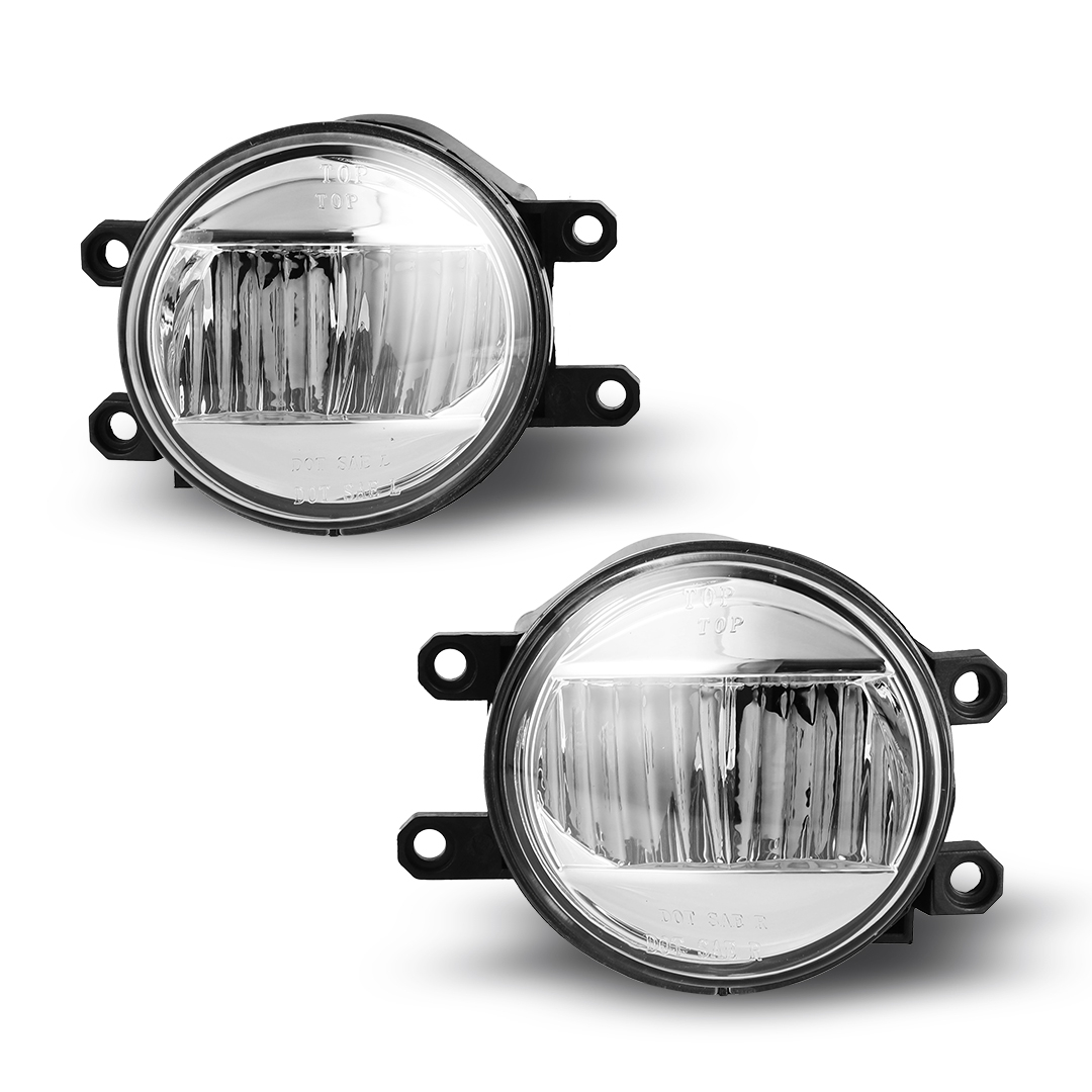 Fits 09-14 Toyota Venza Clear Lens PAIR OE Bumper
