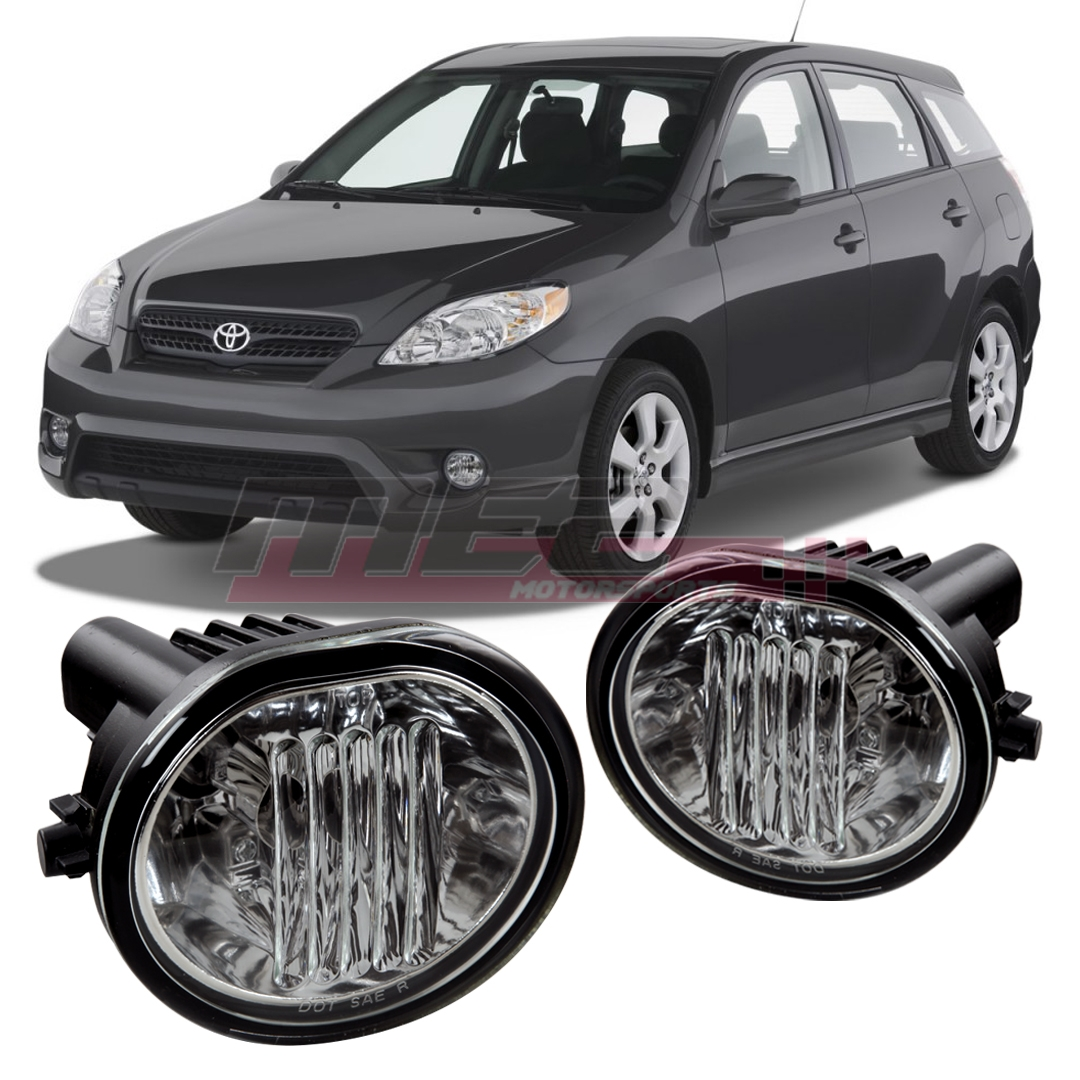 Winjet For Toyota Matrix 03 08 Clear Lens Pair Oe Fog Light Wiring Tail Diagram 848063004869